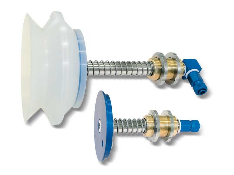 Porte-ventouses spéciaux pour ventouses à soufflet