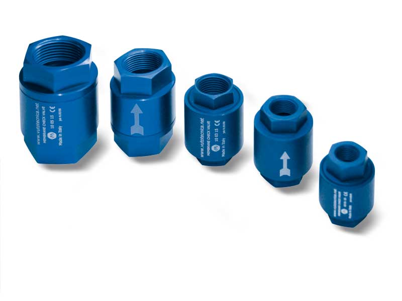 Clapets anti-retour à membrane