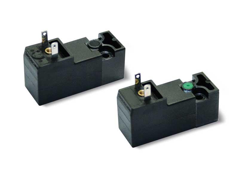 Électropilotes avec bobine électrique à basse absorption intégrée