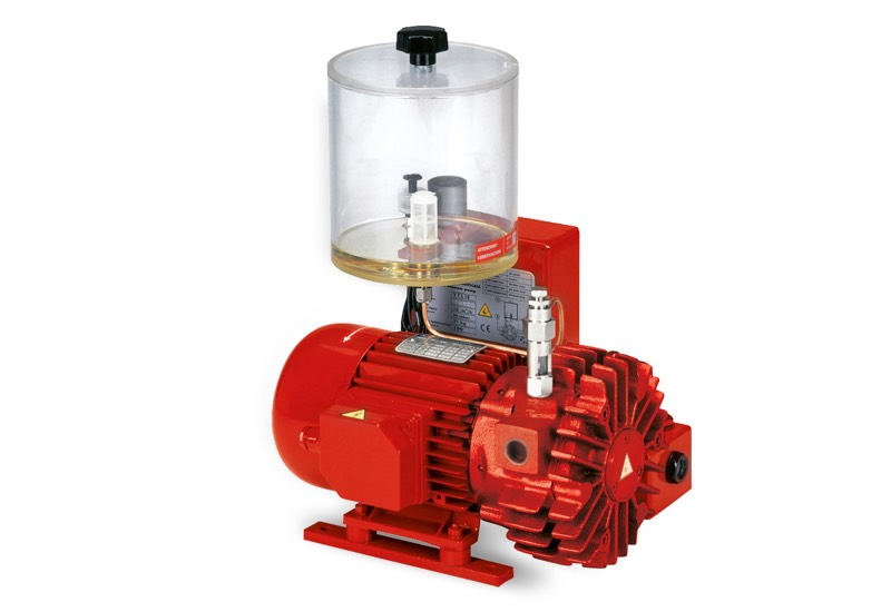 Pompes à vide VTLP 5 et VTLP 10 avec lubrification à huile perdue