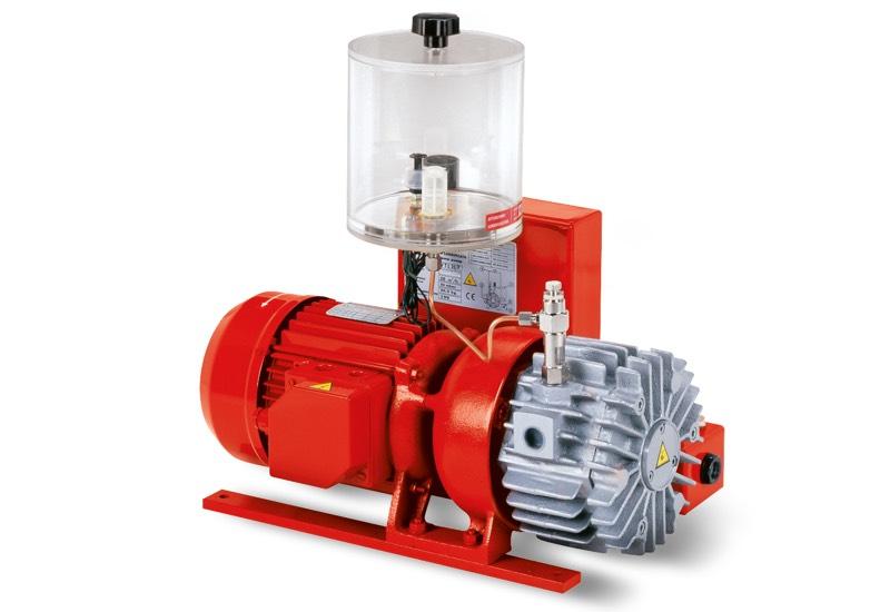 Pompes à vide VTLP 10/F, VTLP 15/F et VTLP 20/F avec lubrification à huile perdue