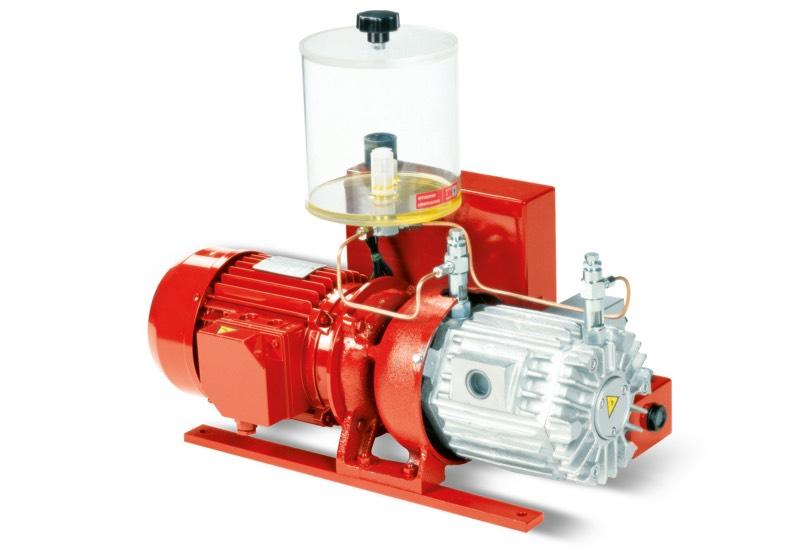 Pompes à vide VTLP 25/FG, VTLP 30/FG et VTLP 35/FG avec lubrification à huile perdue
