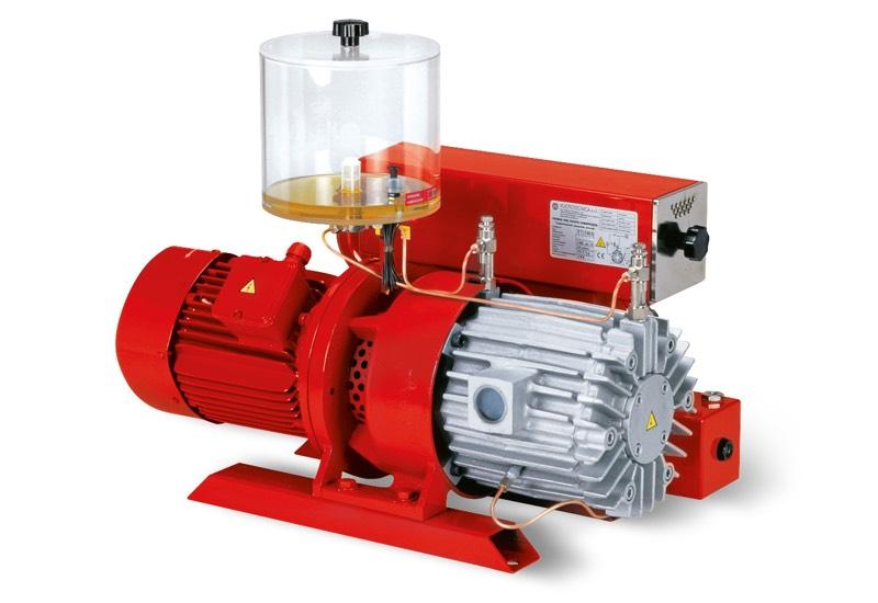 Pompes à vide VTLP 75/G1, VTLP 90/G1 et VTLP 105/G1 avec lubrification à huile perdue