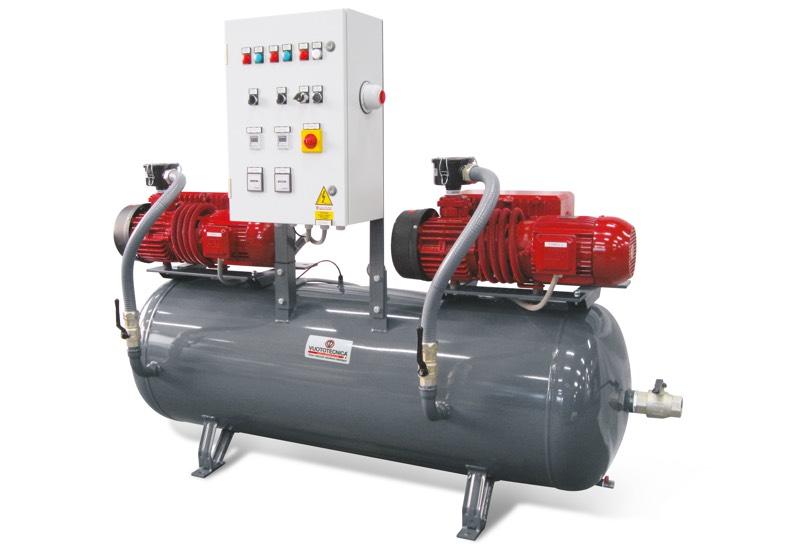 Centrales de vide de sécurité horizontales DSO 300V ... et DSO 500V …