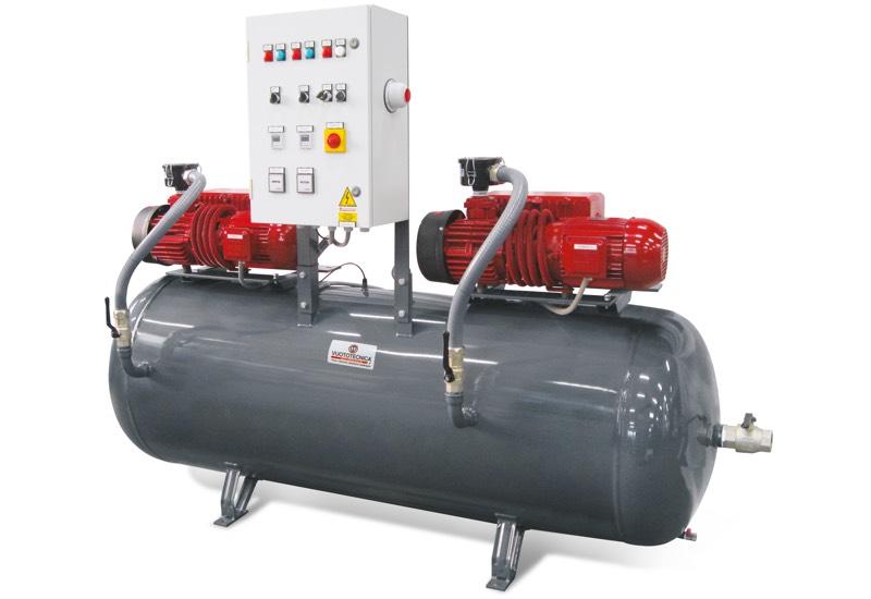 Centrales de vide de sécurité horizontales DSO 1000V ...