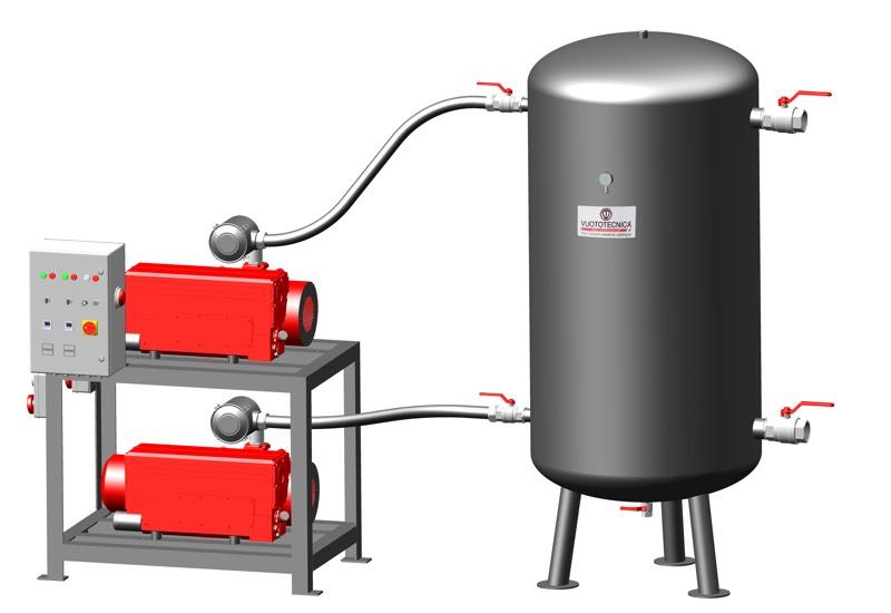 Centrales de vide de sécurité verticales DSV 2000V ...
