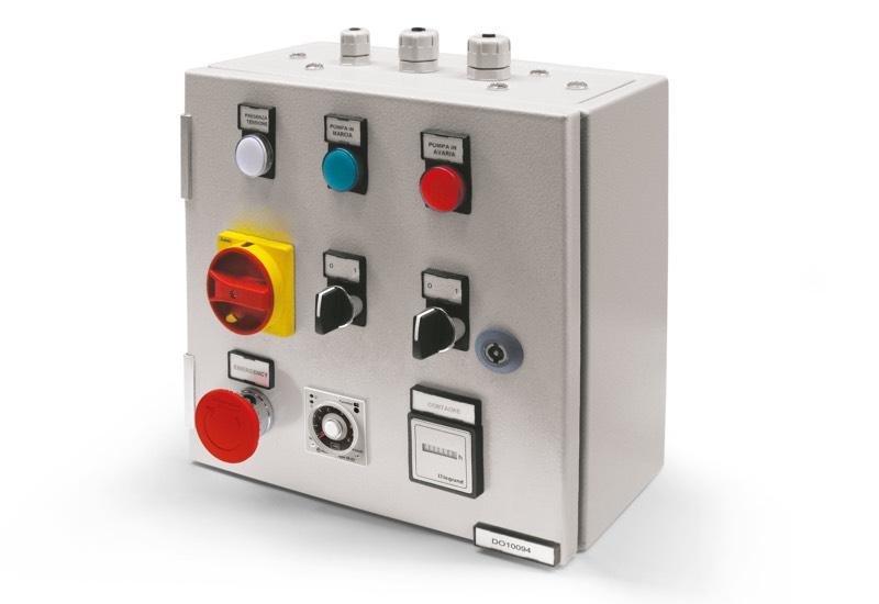 Appareil électrique de sécurité pour pompe simple