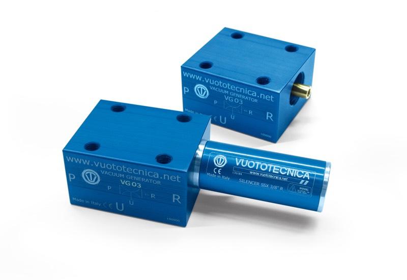 Générateurs de vide mono-étagé VG 03, VG 03 LP et VG 05 LP
