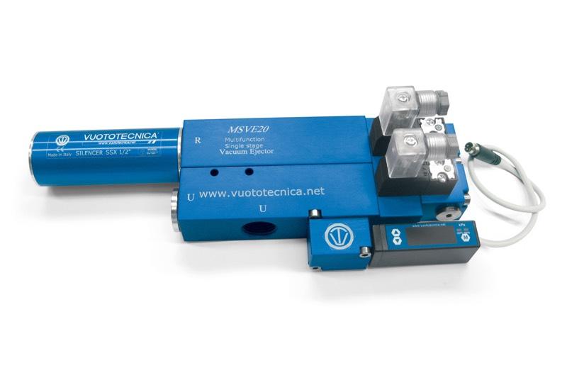 Générateurs de vide mono-étagé et multifonction MSVE 20