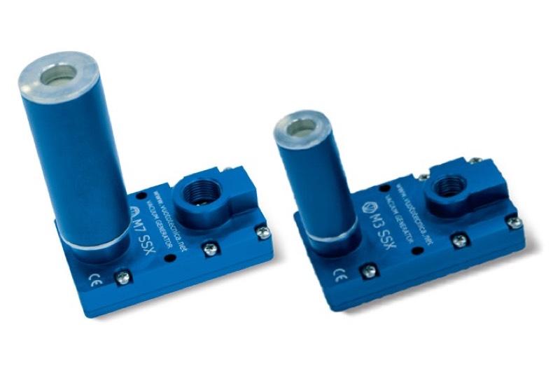 Générateurs de vide multi-étagés série M SSX