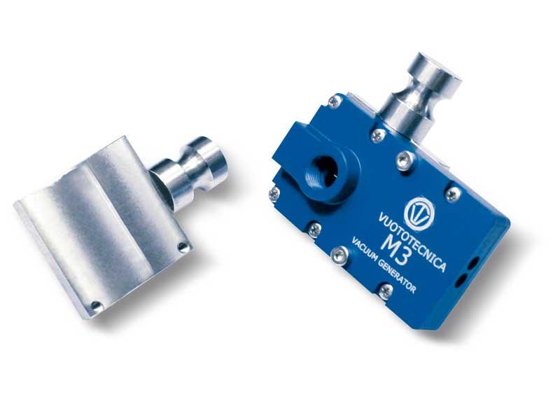 Supports de fixation pour générateurs de vide multi-étagés série M
