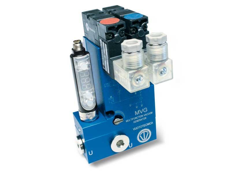 Générateurs de vide multi-étagés et multifonction MVG 3 et MVG 7