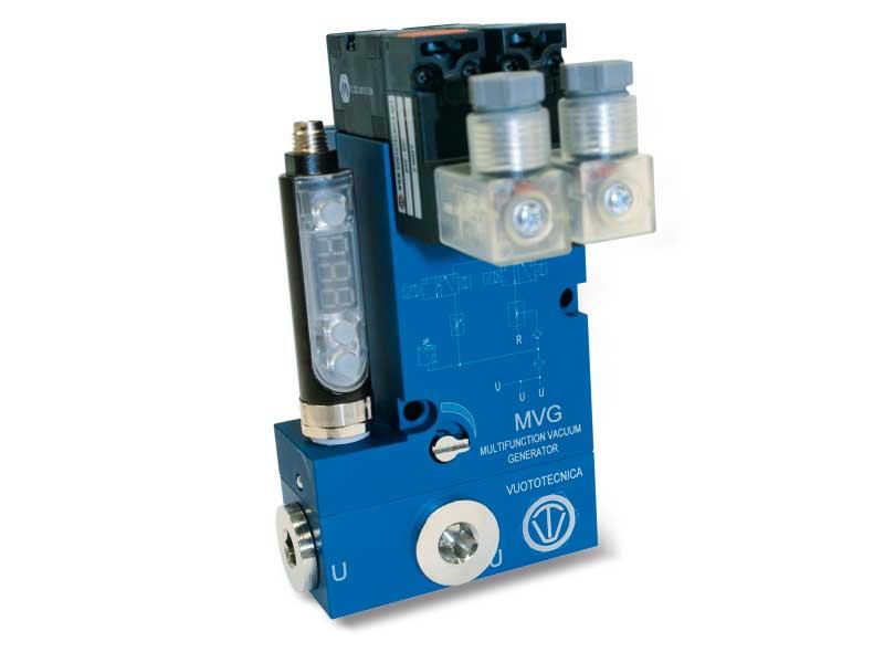 Générateurs de vide multi-étagés et multifonction MVG 10 et MVG 14