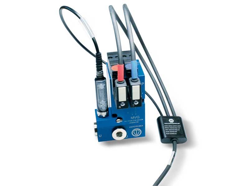 Accessoires et pièces de rechange pour générateurs de vide multi-étagés et multifonction, série MVG