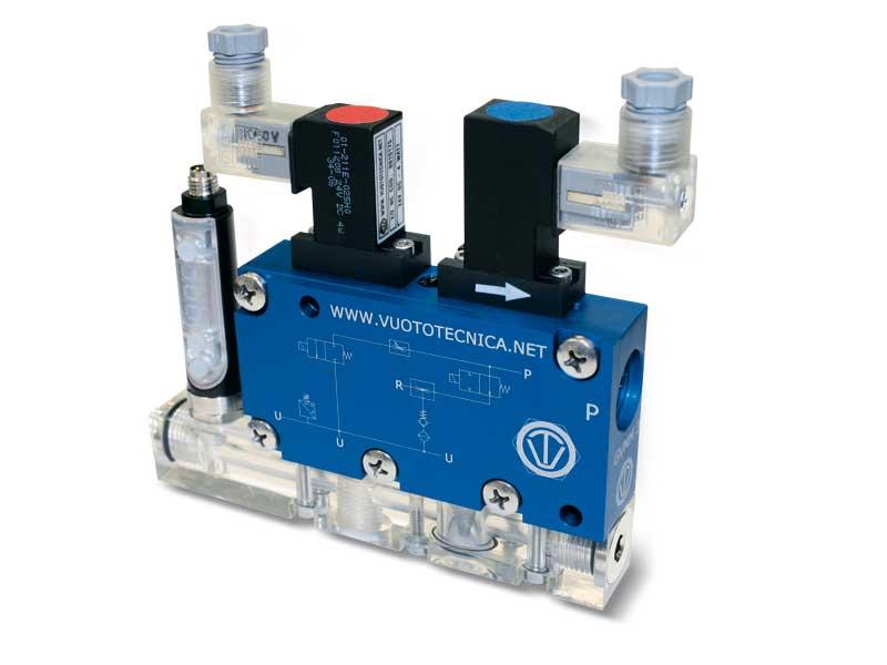 Générateurs de vide multi-étagés, multifonction et modulaires GVMM 3 et GVMM 7
