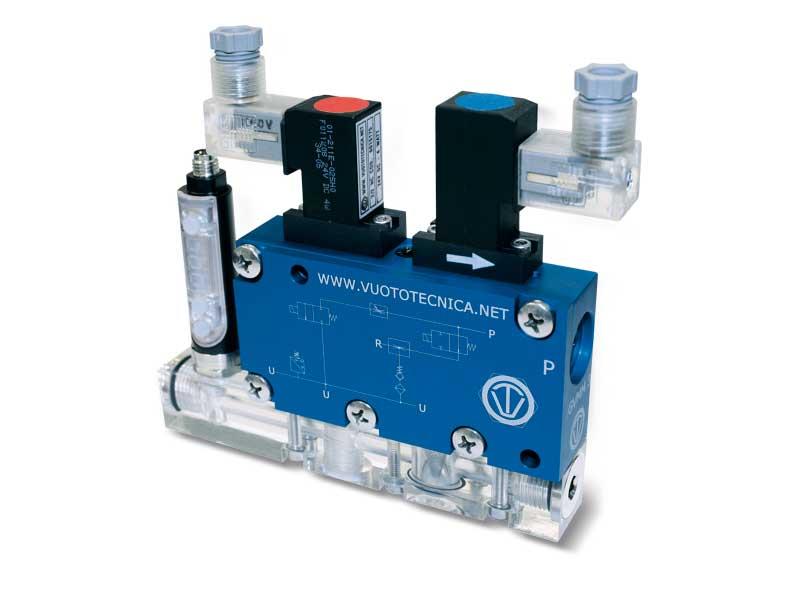 Générateurs de vide multi-étagés, multifonction et modulaires GVMM 10 et GVMM 14
