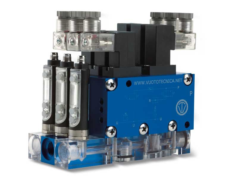 Générateurs de vide intermédiaires, multi-étagés, multifonction et modulaires série MI - généralités