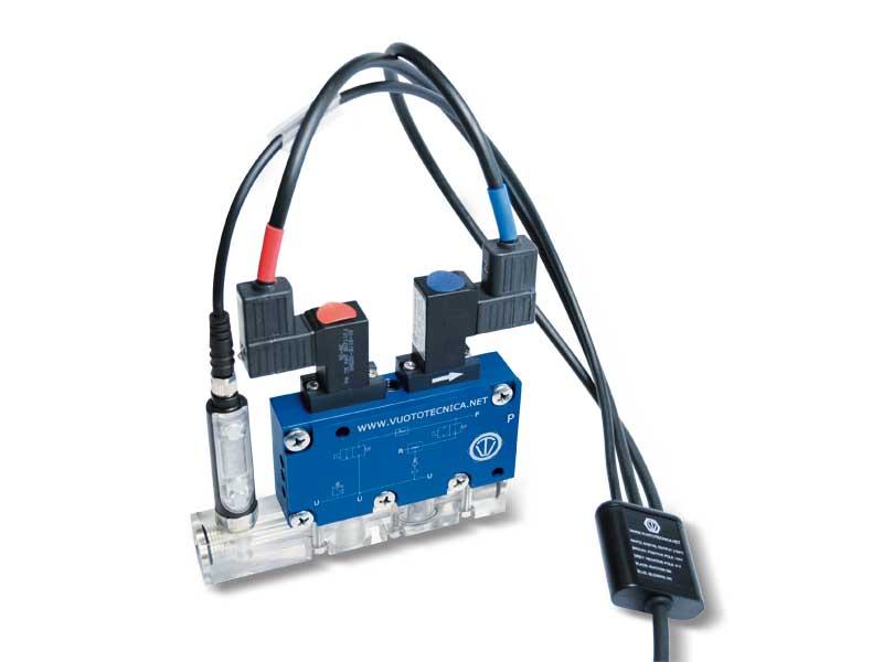 Accessoires et pièces de rechange pour générateurs de vide et modules de vide série GVMM et MI