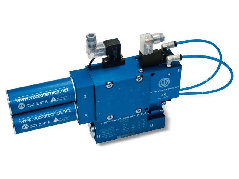 Générateurs de vide mono-étagé et multifonction série AVG - Généralités