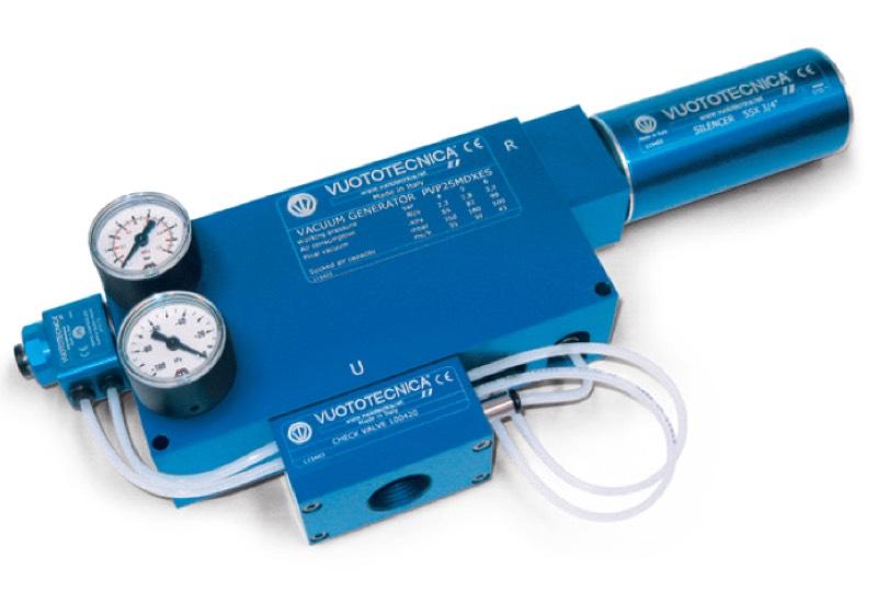 Accessoires pour générateurs de vide PVP 25 ÷ 75 MDX / MDXLP