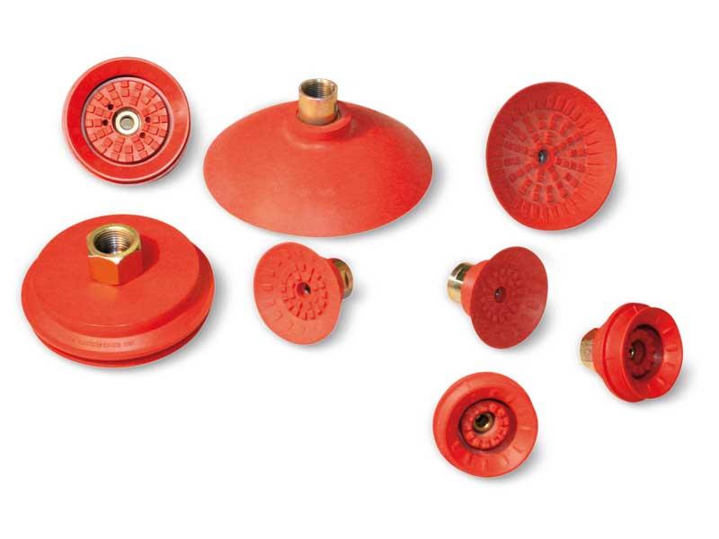 Maxigrip cups - Ventouses rondes plates et à soufflet