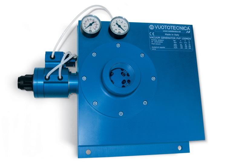 Générateurs de vide multi-étagés et modulaires PVP 150 ÷ 750 MD / MDLP – Généralités