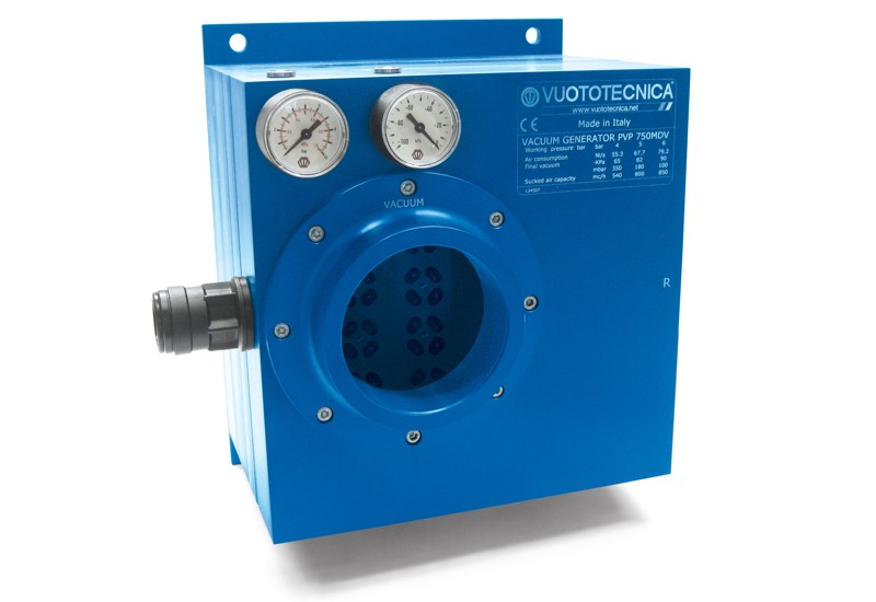 Générateurs de vide multi-étagés et modulaires PVP 750 MD / MDLP
