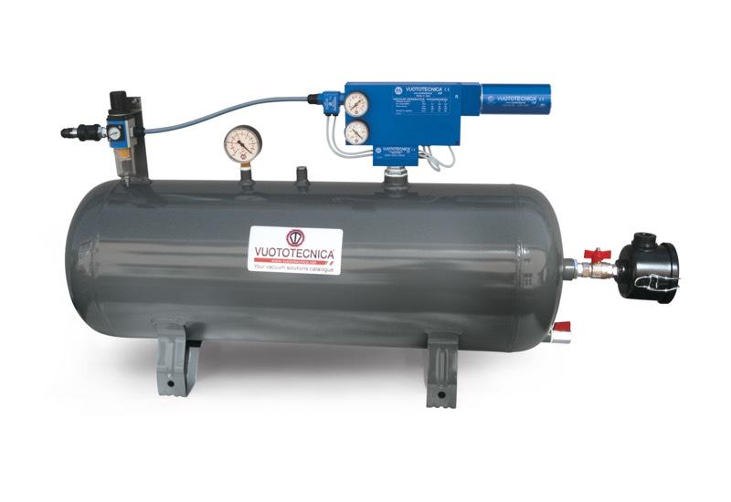 Centrales de vide pneumatiques dop 50