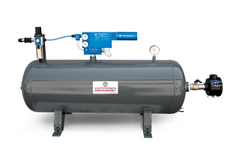 Mini centrales de vide pneumatiques DOP 100