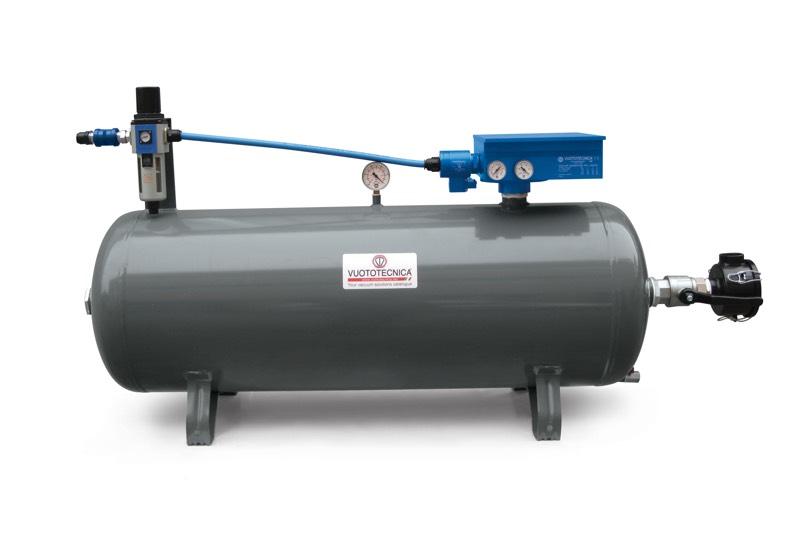 Centrales de vide pneumatiques DOP 150