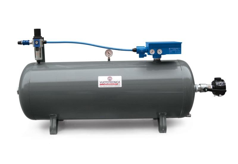 Centrales de vide pneumatiques DOP 300