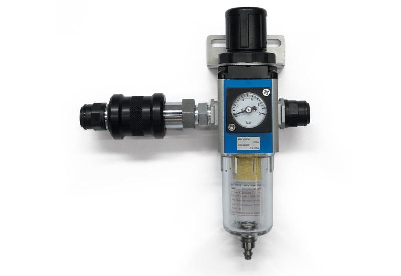 Appareils pneumatiques pour l'alimentation des mini centrales de vide DOP 06, DOP 10 et DOP 20