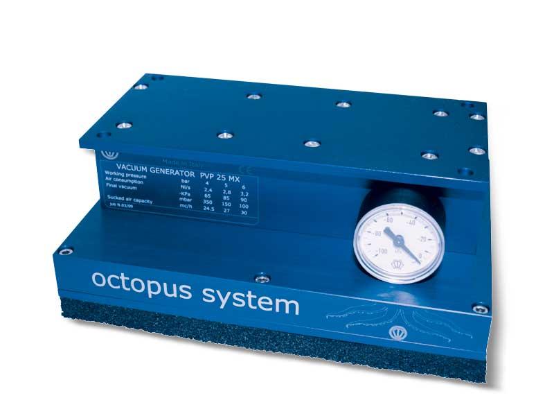 Systèmes de préhension par dépression OCTOPUS