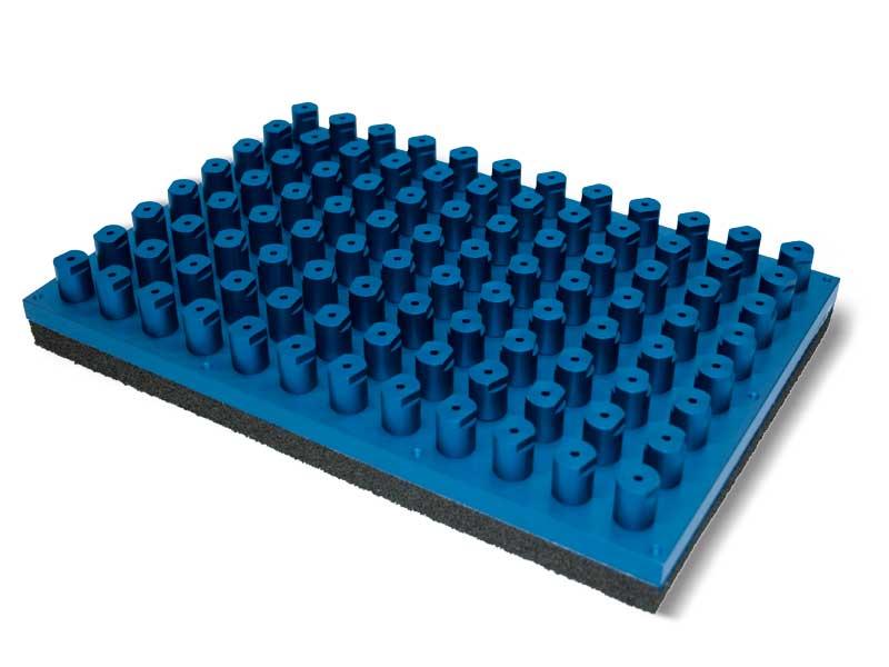 Panneaux d'aspiration standards avec vannes d'isolement automatique PXE et P2XE, pour systèmes OCTOPUS