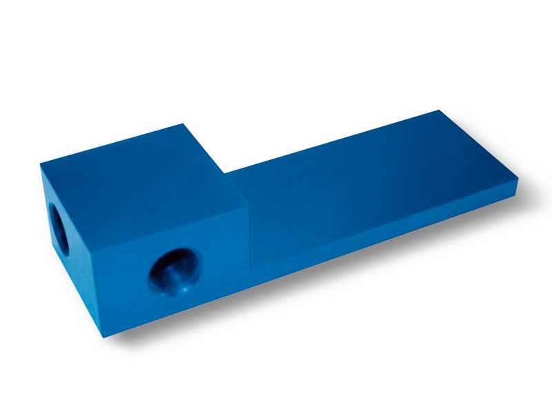 Plaques de fermeture avec distributeur pour barres de préhension OCTOPUS sans générateur de vide