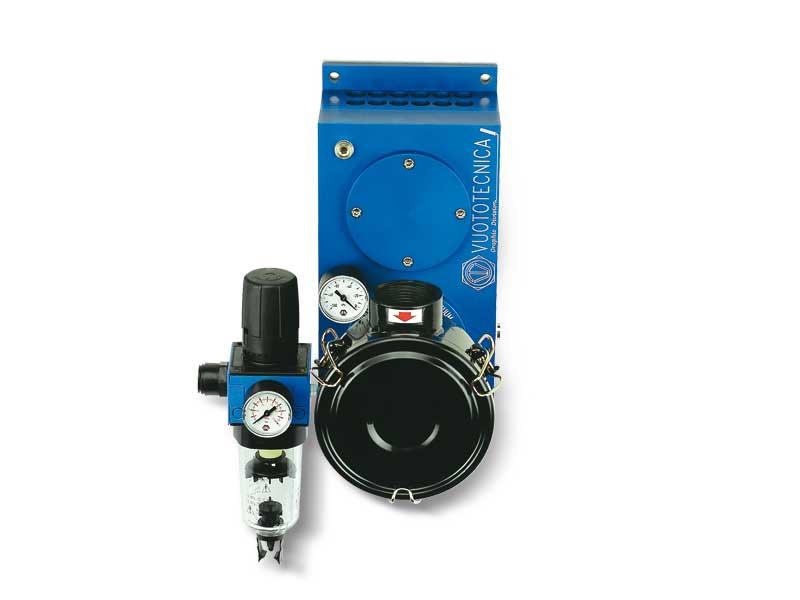 Pompes pneumatiques aspirantes PA 140, PA 170 et PA 200