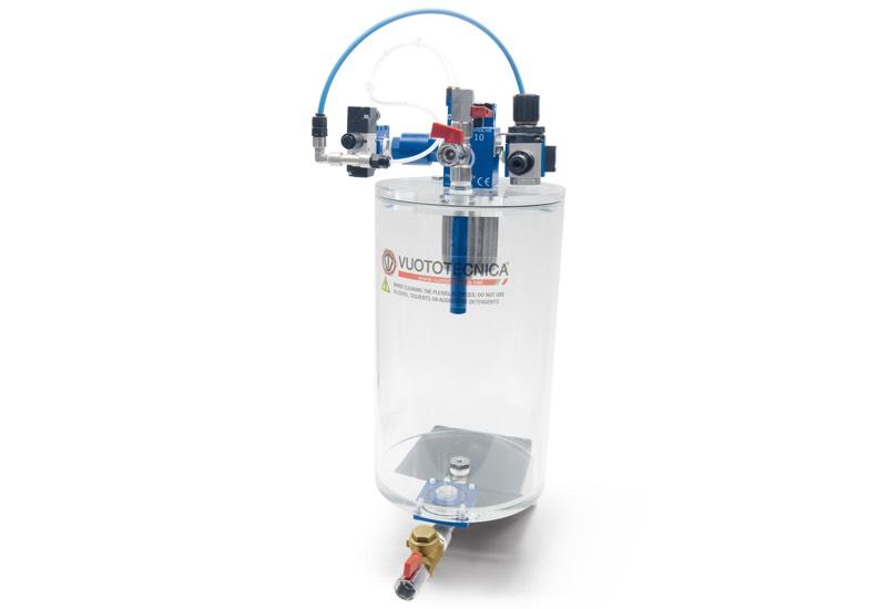 Groupes d'aspiration avec filtre à siphon GA FS 5 et GA FS 10