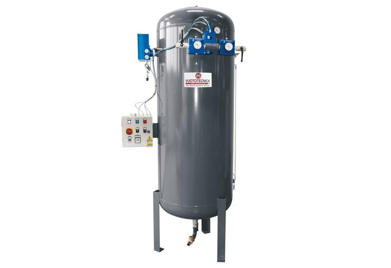 Centrales de vide pour l'aspiration des liquides