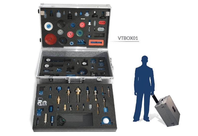 Échantillons et appareils à usage démonstratif - Vacuum training box - VTBOX01