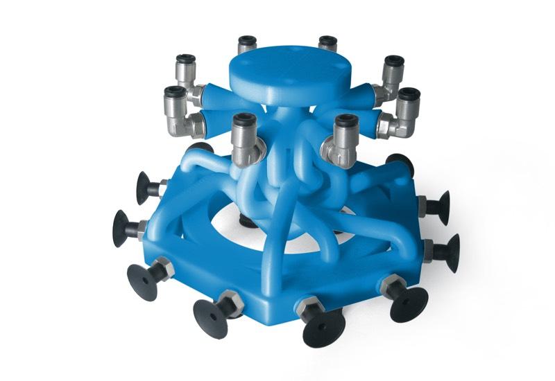 Exécutions spéciales des systèmes de préhension OCTOPUS avec imprimante 3D